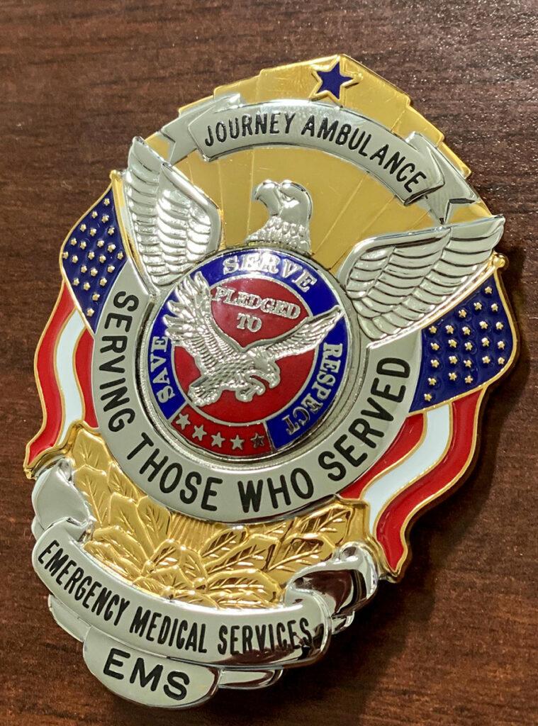 Journey Ambulance Badge