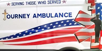 Side of Ambulance